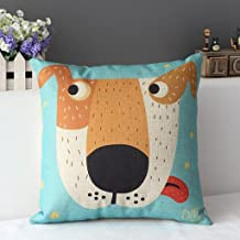 Decorbox Cotton Linen Square Decorative Cushion Cover Sofa Throw Pillowcase 18