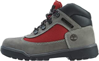 Timberland Field Boot Little Kids' Shoes Grey/Red tb0a1rg1