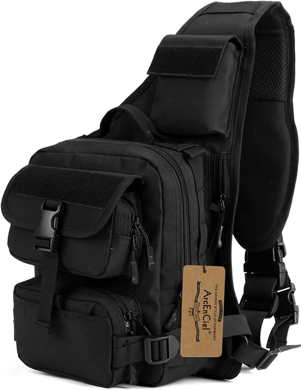 ArcEnCiel Tactical Sling Pack Military Sho San Francisco Mall Chest 70% OFF Outlet Molle Crossbody