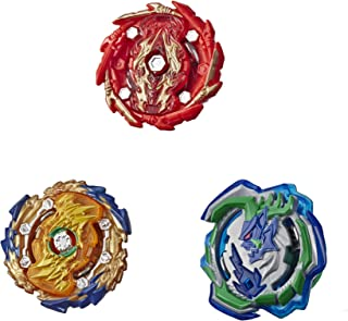 BEYBLADE Burst Rise Hypersphere Battle Hunters 3-Pack -- Wizard Fafnir F5, Ogre O5, Bushin Ashindra A5 Battling Top Toys, Ages 8 and Up