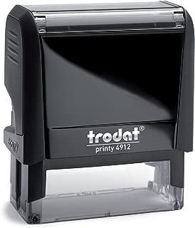 Trodat Printy 4912 Personalized Individual Custom Self Inking Stamp (3/4