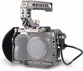 Tilta TA-T17-A-G Camera Cage Cámara Jaula para Sony A7SII / A9 / A7RIII / A7III / A7RIV Camera Rig (ILCE-7RM3 / A7R Mark III/ILCE-7RM4) TILTAING A7/A9 Series Kit A