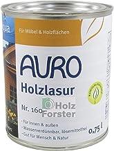 AURO Holzlasur Aqua Nr. 160-00 Farblos, 0,75 Liter