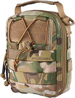 IDOGEAR Tactical MOLLE EMT Pouch Medical Pouch First Aid IFAK Utility Pouch Airsoft Hunting EDC Med Bag 500D Nylon (Pouch Only)