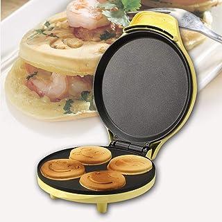 Smörgåsbrödrost,220V Mini Helautomatisk Hushållsvaffelmakare , Tecknadformad Brödmaskin Crepes Hamburger Sandwich Maker , ...