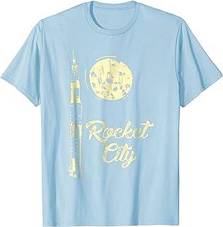 Rocket City Space Trip Moon T-Shirt Huntsville