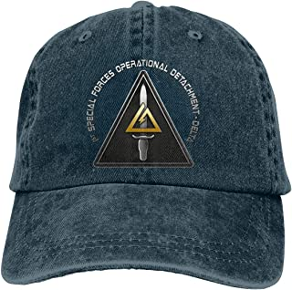 1st Special Forces Operational Detachment-Delta (Delta Force) Unisex Cowboy Hat Denim Hats Dad Hat Snapback Hat
