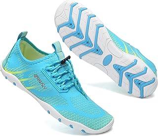 Scarpe da mare da uomo a piedi nudi, scarpe da spiaggia, ad asciugatura rapida, per piscina, surf, immersioni, fitness, tr...