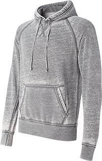 J. America Vintage Zen Pullover Hood - Cement