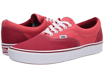Vans ComfyCush Era ((Textile) Chili Pepper/Grenadine) Athletic Shoes