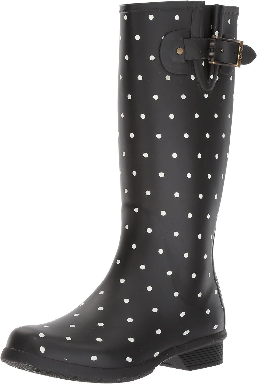 Chooka Womens Dot Blanc Tall Boot