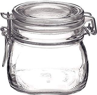 8 x Rocco Bormioli Fido Einmachglas mit Bügelverschluss Glas 0.5 l
