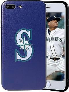 "Sportula MLB Phone Case Matching 2 Premium Screen Protectors Extra Value Set - for iPhone 7 Plus/iPhone 8 Plus (5.5"") (Sea..."