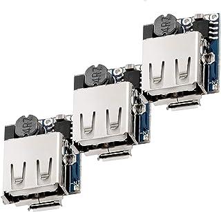 AZDelivery 3 x Modulo Power Bank Controlador de Carga TP5400 Micro USB y Conector USB para Arduino con eBook incluido