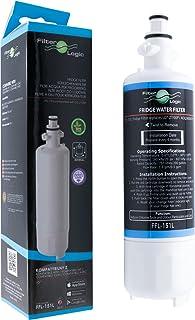 FilterLogic FFL-151L - Filtre à eau frigo remplace LG ADQ36006101, ADQ36006101-S, LT700P, ADQ36006102, ADQ36006102-S Carto...