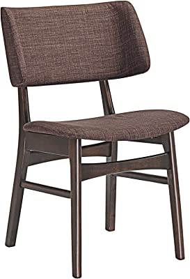 Stupendous Amazon Com Barett Dining Chairs Grey And Chesnut Set Of 2 Gamerscity Chair Design For Home Gamerscityorg