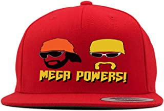 RED Snapback Hogan Macho Man Mega Powers Hat