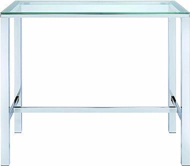 Coaster Home Furnishings Bar Table, Chrome