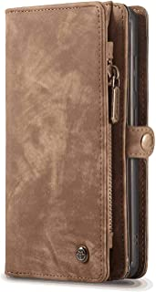 Flip Case for Samsung Galaxy S10 5G, wallet brown PU Leather Wallet Cover (Compatible with Samsung Galaxy S10 5G)