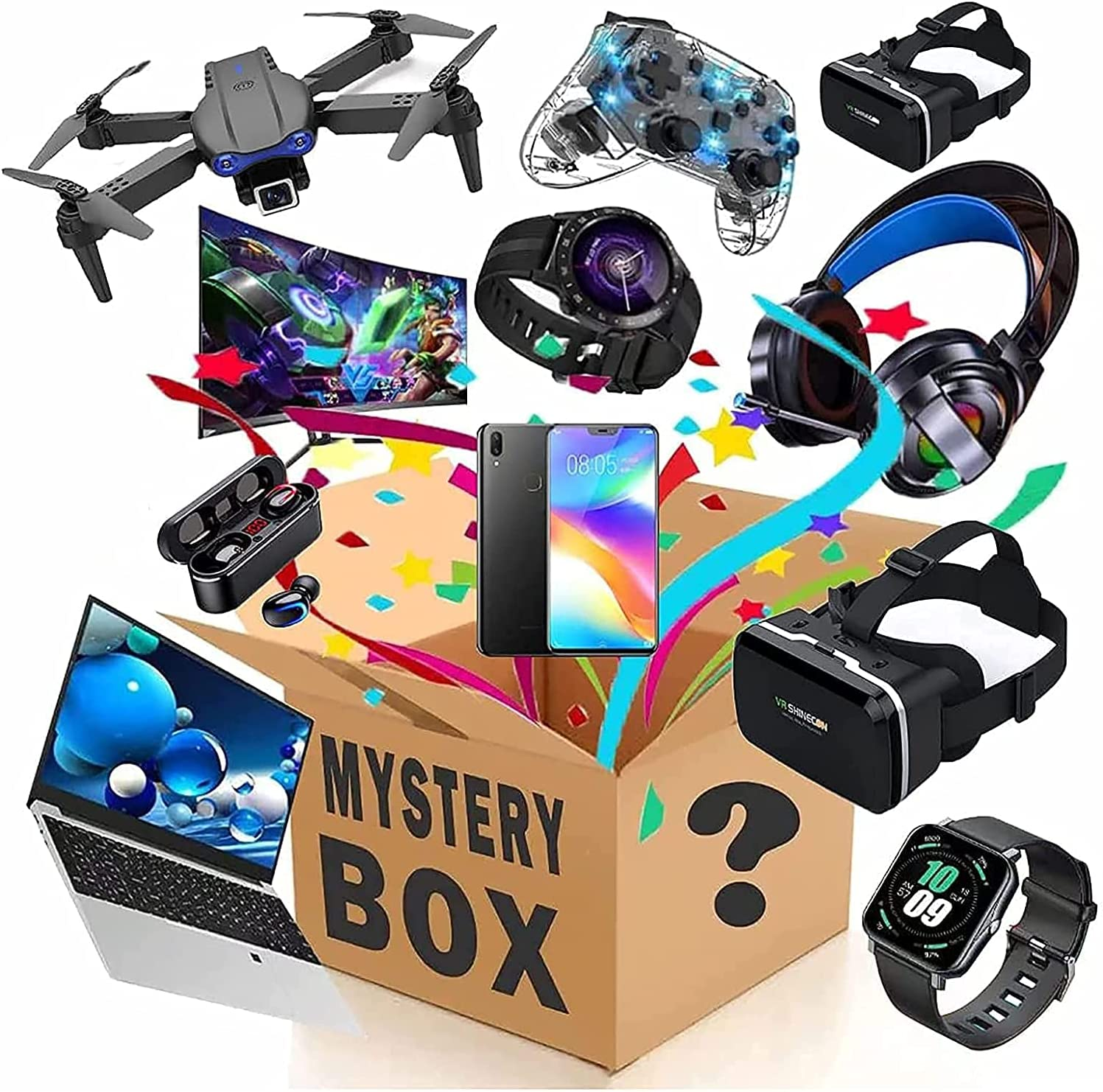 Mystery Box Electronics Limited time trial price Boxes OFFicial site Birt Random