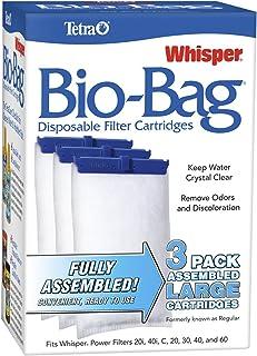 Tetra 26170 Whisper Bio-Bag Cartridge, Large, 3-Pack