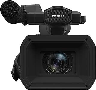 Panasonic HC-X1 - Videocámara Profesional de 20x Sensor 1 O.I.S de 5 Ejes F2.8 - F4.5 Zoom 24 mm - 480 mm 4K 60p XLR Filtro ND SD Dual 3 Anillos Control Manual Color Negro