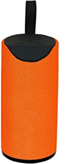 Rdeal Wireless Bluetooth Speaker Portable Splash Proof Deep Bass Playing with TV/Mobile/Tablet/Laptop/Aux/Memory Card/Pendrive/FM with Long Lasting 1200 mah Battery (Orange)