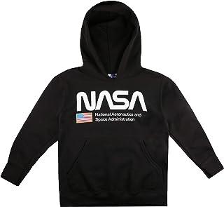 Nasa National Aeronautics Hood Sudadera con Capucha para Niños