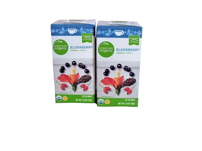 Simple New life Truth Organic Elderberry Herbal Max 45% OFF Tea of Pack ct 2 20