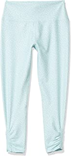 Betsey Johnson Women's High Rise 7/8 Legging with Fold Over Waistband