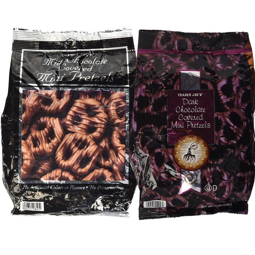 Trader Joes Over item handling ☆ Chocolate Covered Pretzels Variety 2 Mil Pack Nippon regular agency Bags