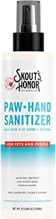 SKOUT'S HONOR: Paw and Hand Sanitizer - 8 oz - for Pets and People - No Fragrance or Alcohol - Kills 99.99% of Germs, Bact...