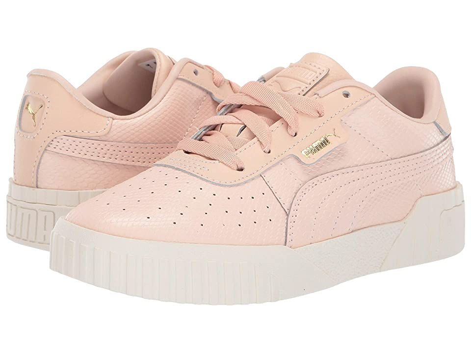 Puma Kids Cali Emboss (Little Kid) (Cream Tan/Cream Tan) Girls Shoes