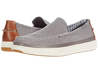 Cole Haan Cloudfeel Slip-On Sneaker (Ironstone Washed Canvas) Men