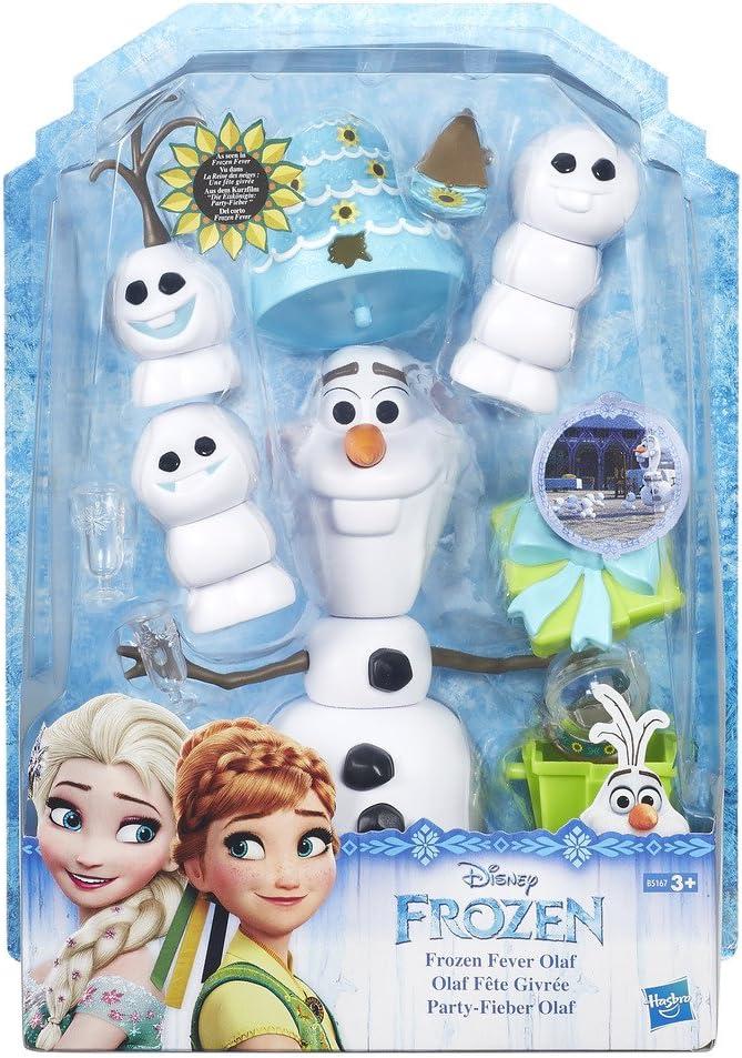 Frozen Disney Muñeco, color blanco (Hasbro B5167EU0) , color/modelo surtido