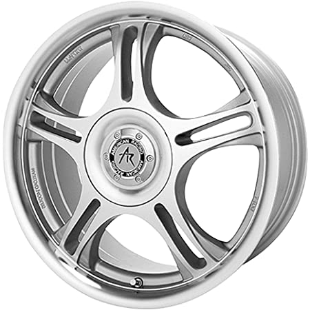 14x6//5x100mm American Racing Estrella AR095 Machined Wheel with Clear Coat