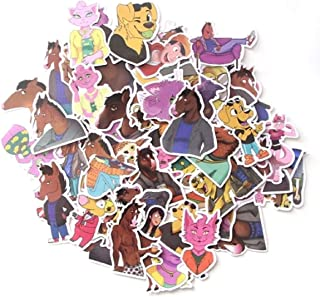 BoJack Horseman Decal Stickers Assorted Lot of 58 Pieces