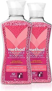 Method Laundry Fragrance Boosters, Spring Garden, 17 Oz, 2 Pack
