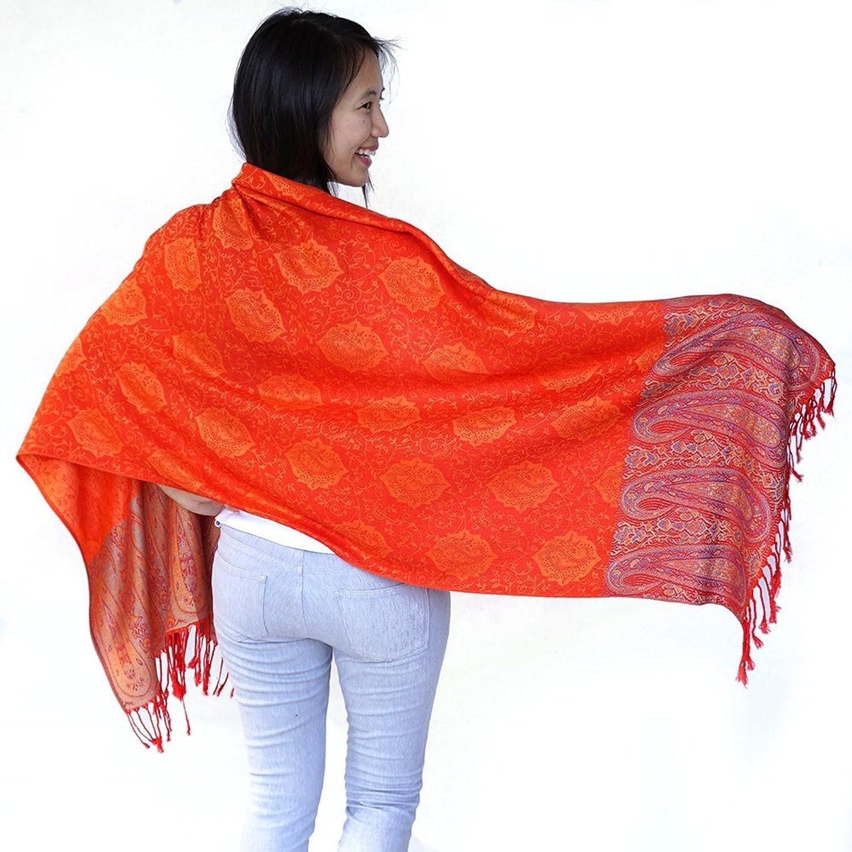 Boho Silks Luxury 100% Cashmere Pashmina