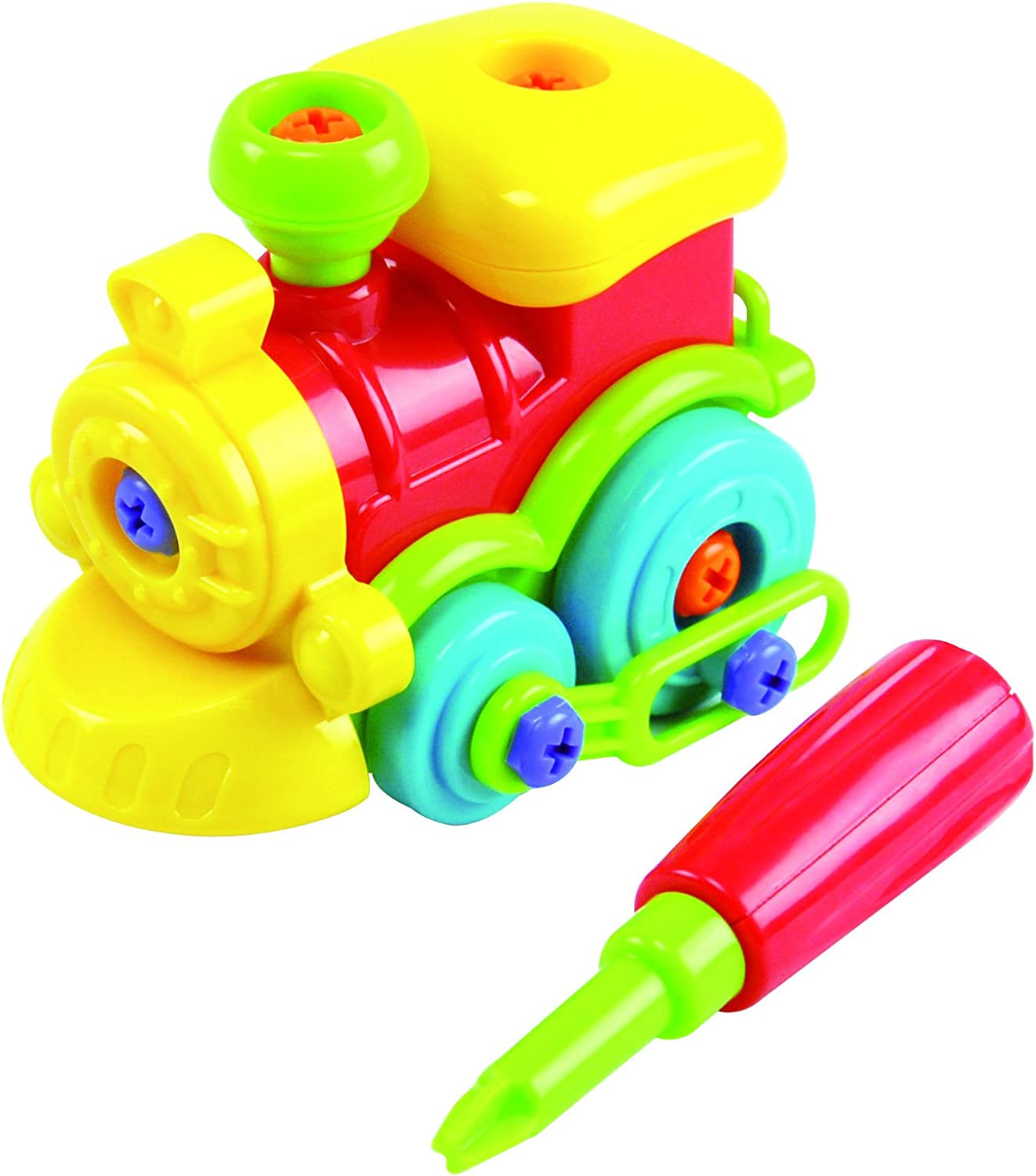 Motor Works Train by Discovery Toys