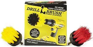 Produits de nettoyage - Percer Brosse - Nettoyant pour Coulis - 2 pouces Bristle Spin Brush Set - Bain d'oiseau - Salle de...
