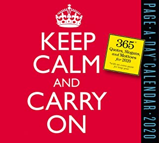 Keep Calm and Carry On Page-A-Day Calendar 2020 [5.5