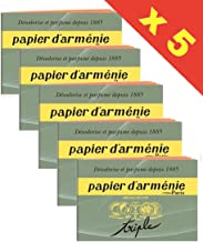 Papier d'Armenie - Triple - Lot de 5 Carnets
