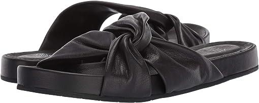 Black Washed Leather