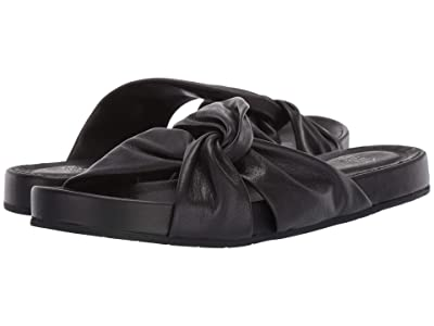 Eileen Fisher Pal (Black Washed Leather) Women
