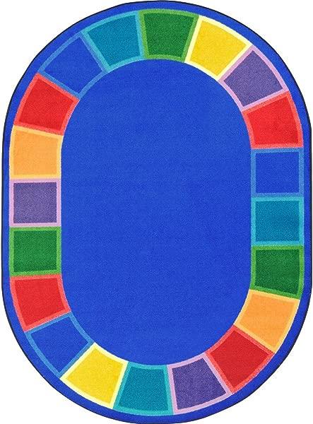 Joy Carpets 1897CC Color Tones Childrens Rugs CC Multicolor