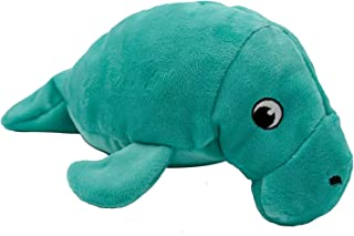 SmartPetLove - Tender-Tuffs - Large Marine Stuffed Plush Manatee Toy - with Puncture Resistant Squeaker, Great for Big Dogs
