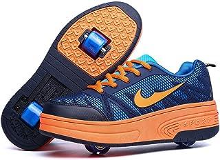 Skybird-UK Unisexe Enfant Chaussures à roulettes Inline Automatique Rétractable Outdoor Multisports Cross Training Amovibl...
