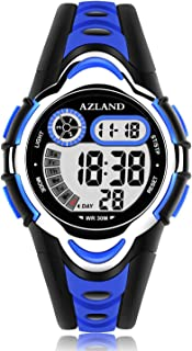 AZLAND Waterproof Swimming Frozen Sports Watch Boys Girls...