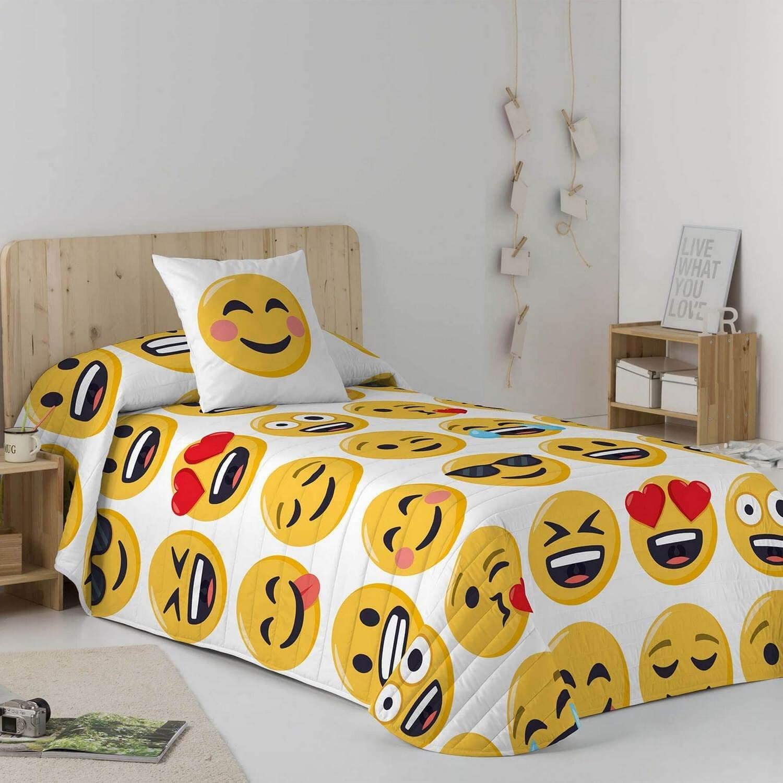 Emoji Colcha Bouti ILY 90 cm